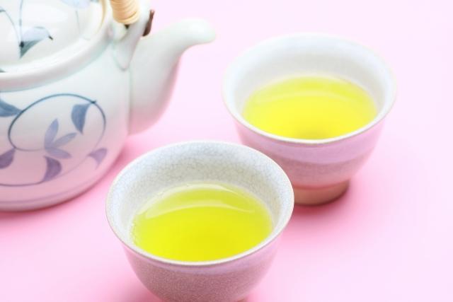 緑茶の殺菌効果にも期待。